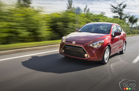 2016 Toyota Yaris Sedan Review