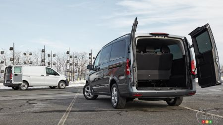 2016 Mercedes-Benz Metris Van First Drive