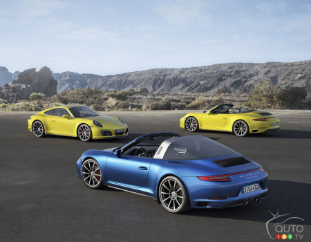 First look at the 2017 Porsche 911 Carrera 4 models