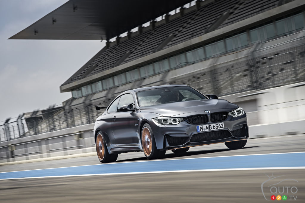 Limited-edition 2016 BMW M4 GTS coming to North America