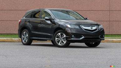 2016 Acura RDX Elite: From 0-100 in 5 Points or Less