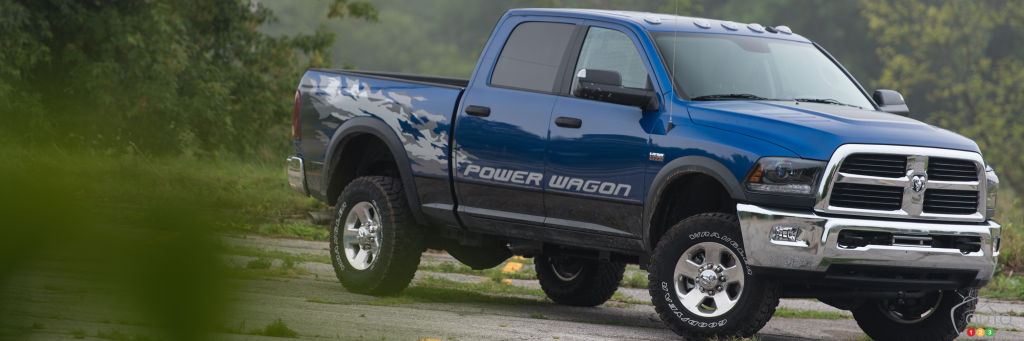driving the 2015 ram power wagon or mt everest car reviews auto123. Black Bedroom Furniture Sets. Home Design Ideas