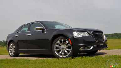 2016 Chrysler 300C Platinum First Drive