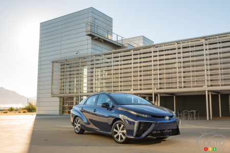 Toyota Mirai celebrates 30th anniversary of Back to the Future