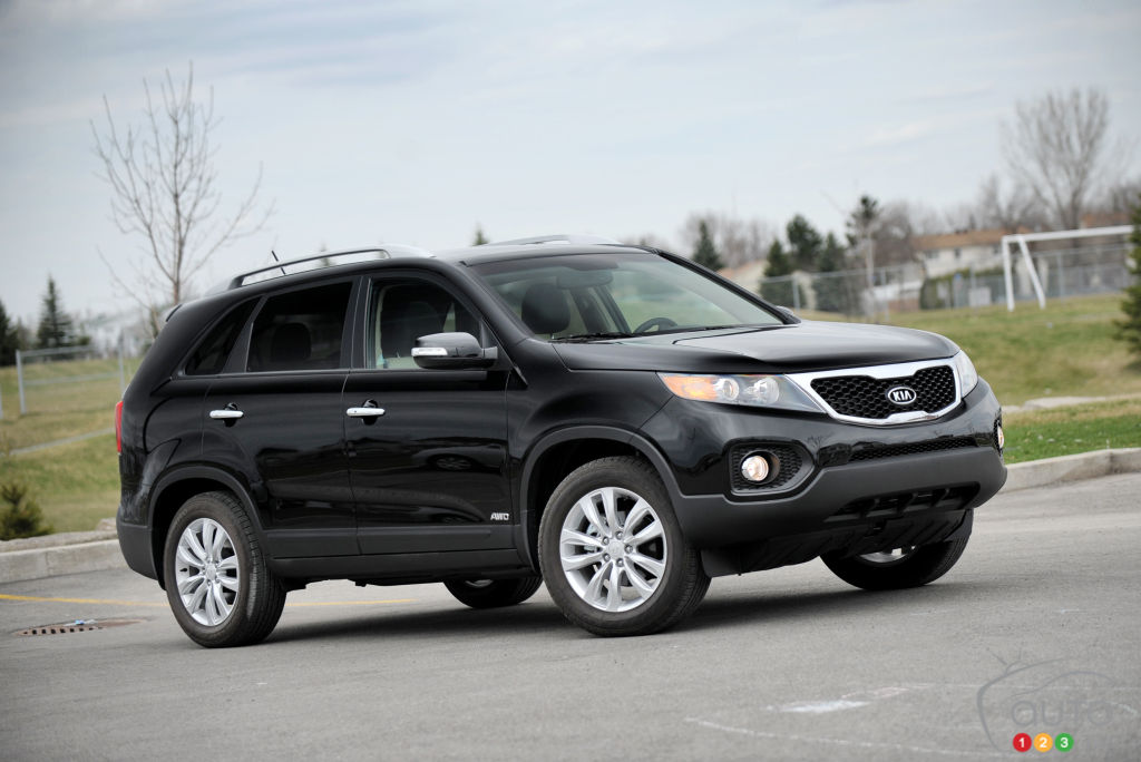 Over 42,000 Kia Sorentos recalled in Canada