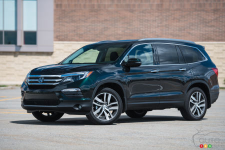 2016 Honda Pilot Touring Review