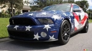 Un million de dollars pour cette rarissime Ford Mustang Shelby GT-500 2011