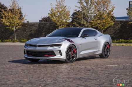Chevrolet to unveil new Red Line concepts at SEMA
