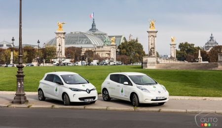 200 Renault-Nissan electric cars to serve duty at Paris climate conference