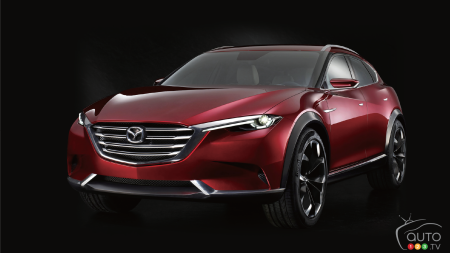 2015 Tokyo: Mazda KOERU concept, or CX-9 by another name