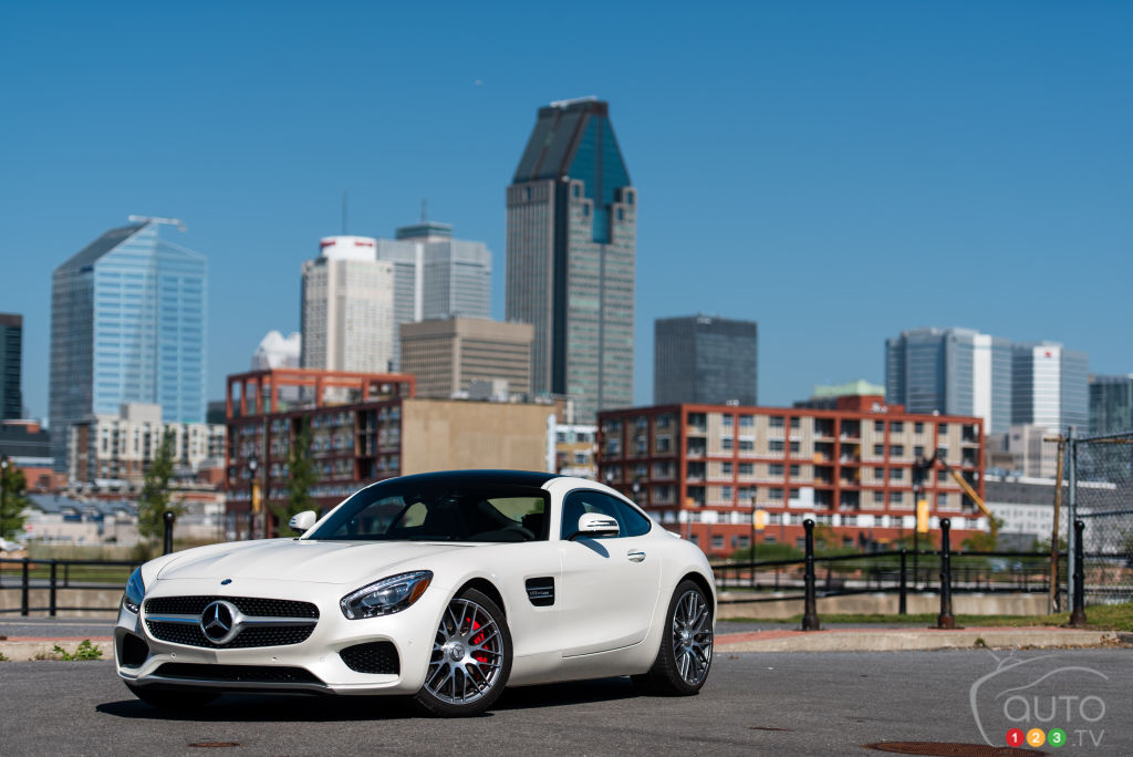 2016 Mercedes-AMG GT S review