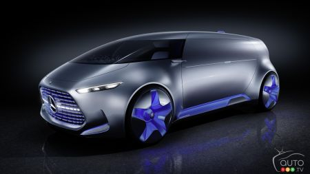 Tokyo 2015: Mercedes-Benz presents updated Vision concept