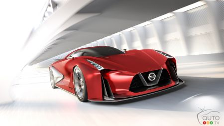 Tokyo 2015: Nissan presents Gripz and 2020 Vision Gran Turismo concepts