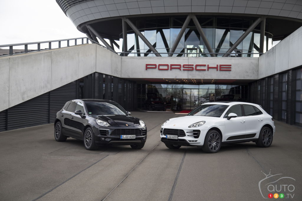 Recall on nearly 4,000 Porsche Macan crossovers in Canada