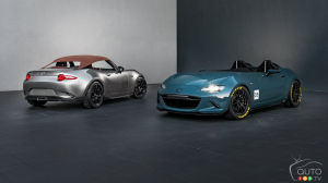 SEMA 2015: Mazda MX-5 Spyder and MX-5 Speedster concepts unveiled