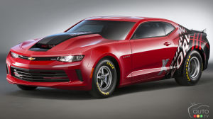 SEMA 2015: Chevrolet launches 2016 COPO Camaro!