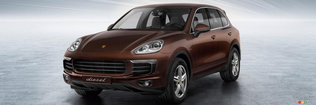 porsche canada cesse la vente de ses cayenne diesel. Black Bedroom Furniture Sets. Home Design Ideas