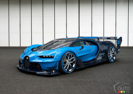 Could this be the Bugatti Chiron, heir to the Veyron?