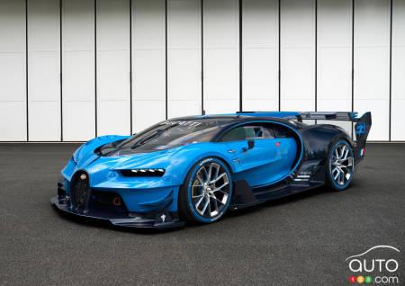 la successeure de la bugatti veyron aper ue sur la route actualit s automobile auto123. Black Bedroom Furniture Sets. Home Design Ideas
