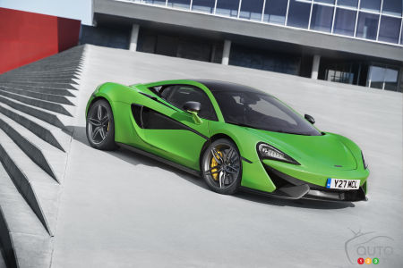 La production de la McLaren Sports Series est commencée