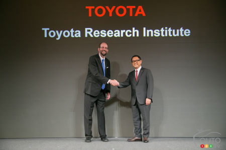 Toyota injectera 1 milliard de dollars dans l'intelligence artificielle