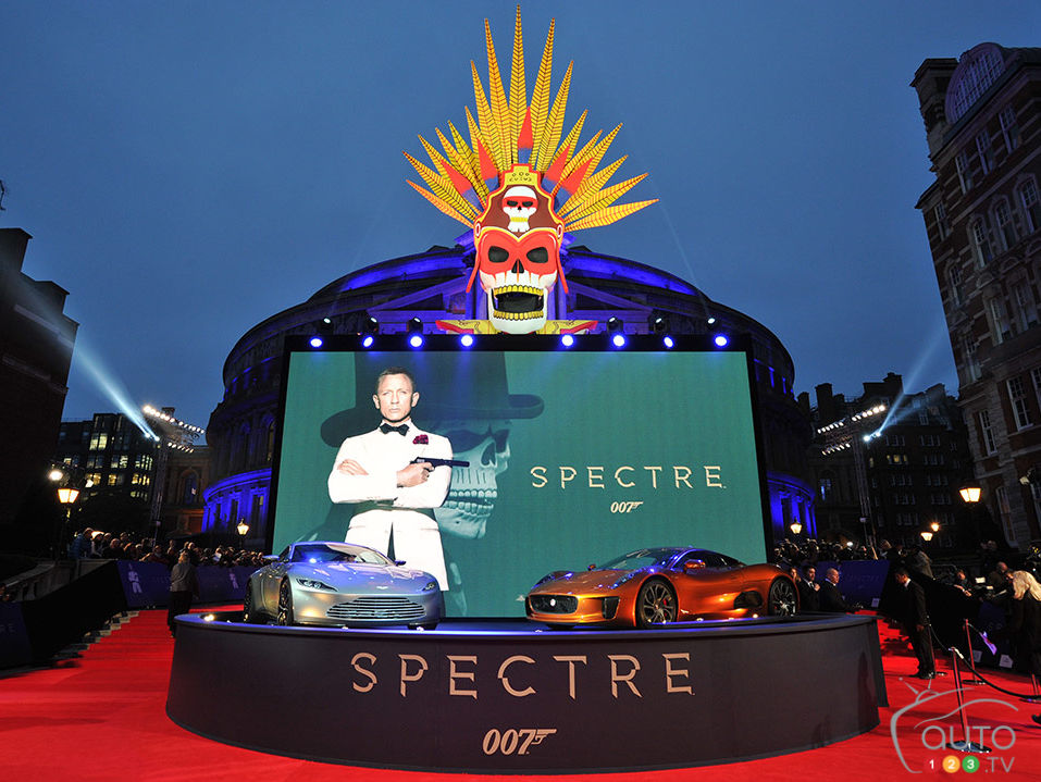 James Bond in SPECTRE