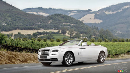Who wants to own the first Rolls-Royce Dawn sold in North America?