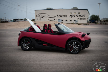 New LM3D hailed as world's first production 3D-printed car