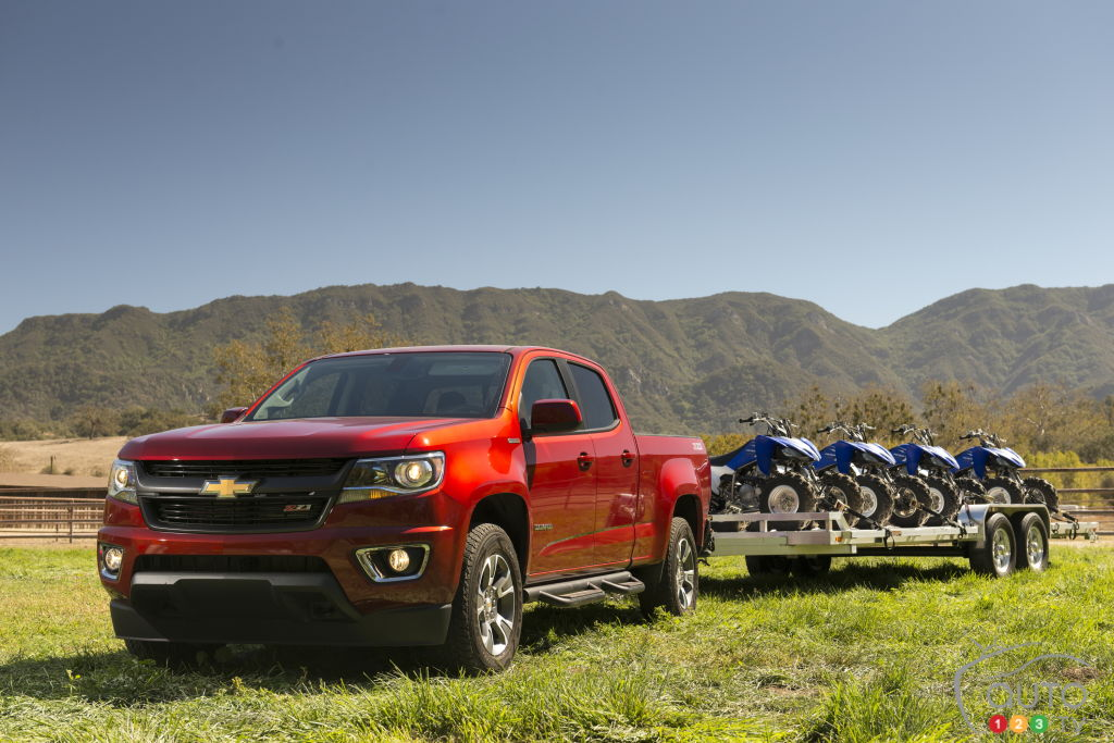 Chevy Colorado, GMC Canyon add diesel engine | Car News ...