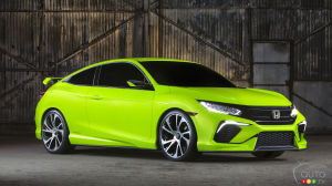 2016 Honda Civic Coupe set for world premiere in Los Angeles