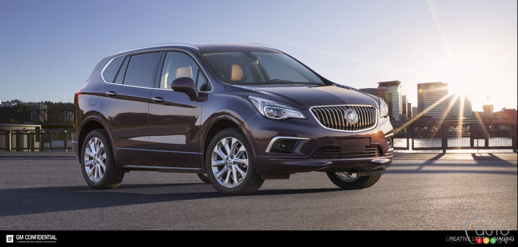 All-new, made-in-China Buick Envision to be sold in the U.S.?