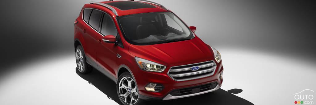 Los Angeles 2015 : voici le tout nouveau Ford Escape 2017!