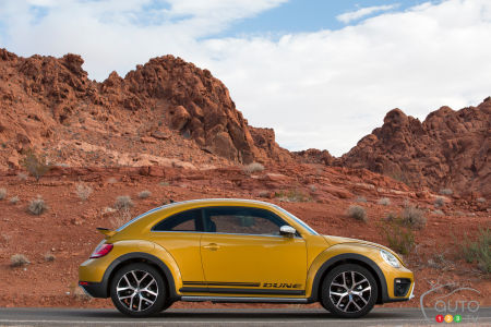 Los Angeles 2015 : voici la Volkswagen Beetle Dune 2016