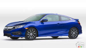 Los Angeles 2015: Global debut of 2016 Honda Civic Coupe
