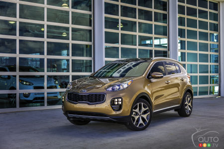 Los Angeles 2015: 2017 Kia Sportage makes North American debut