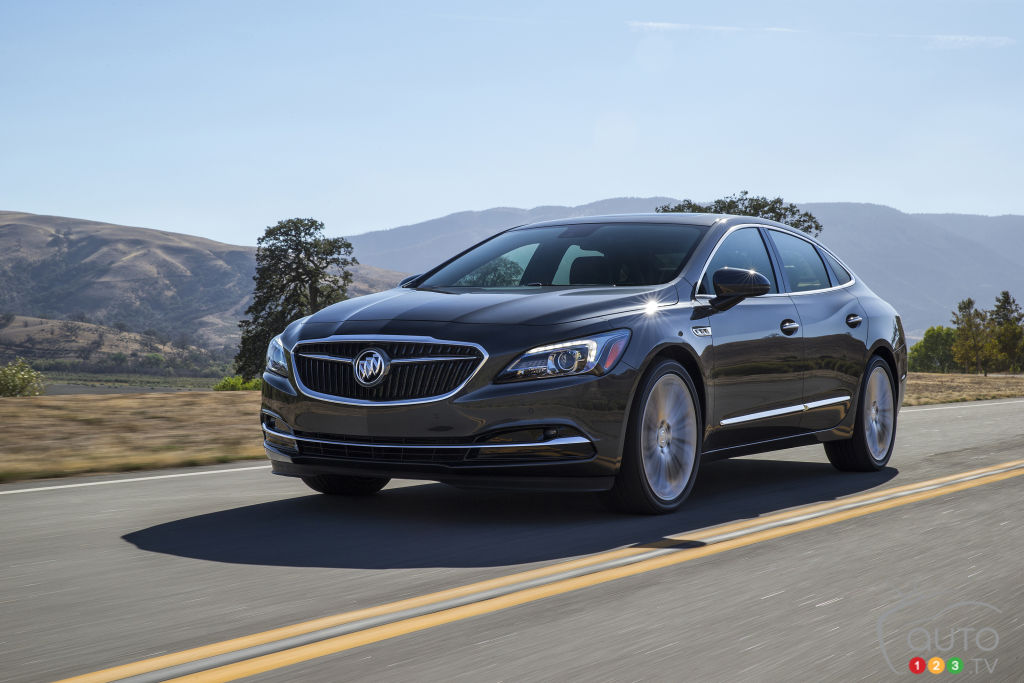 Los Angeles 2015: Buick presents 2017 LaCrosse