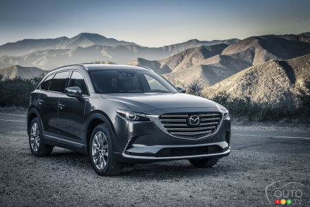 Los Angeles 2015: 2016 Mazda CX-9 breaks cover