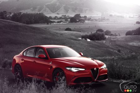 Los Angeles 2015: Alfa Romeo presents 2017 Giulia Quadrifoglio