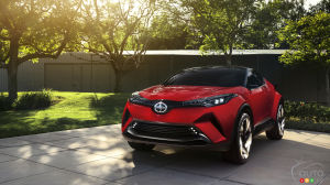 Los Angeles 2015: Scion C-HR concept makes world debut