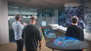 Volvo and Microsoft team up for holographic system