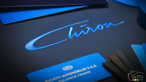 Confirmed: Bugatti Chiron world premiere set for Geneva Auto Show