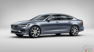 All-new Volvo S90 full-size luxury sedan revealed ahead of NAIAS