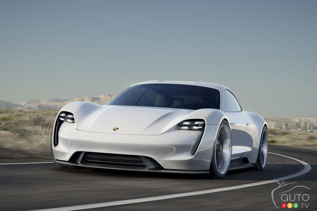 Porsche announces production of all-electric Mission E