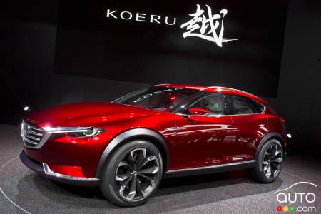 Mazda Koeru Concept To Spawn Subaru Outback Rival Car News Auto123