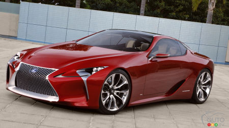 All-new Lexus LC 500 heading to Detroit Auto Show