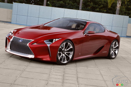 Detroit 2016 : verra-t-on la future Lexus LC 500 de production?