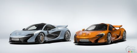 McLaren's 375th and final P1 supercar rolls off the line