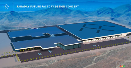 Faraday Future to build assembly plant in North Las Vegas
