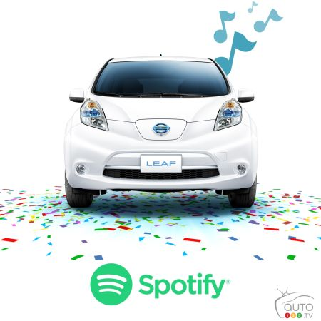 Nissan LEAF celebrates 5th anniversary with music