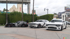 3 Dodge aux couleurs de Star Wars envahissent Los Angeles